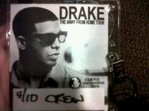 drake pass by you.