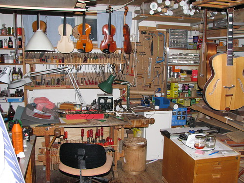 The workshop of my Grandfather