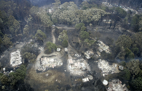 Kinglake fire devastation - Reuters/ Mike Tsikas