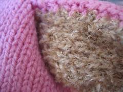 bunny hat (details)