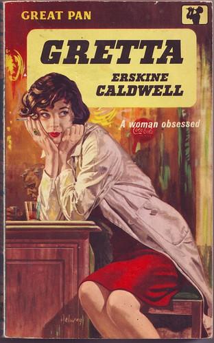 'Gretta' - Erskine Caldwell by letslookupandsmile.