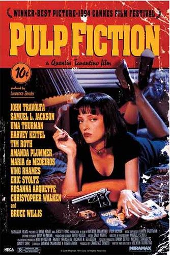 Pulp Fiction - One-Sheet - Movie Poster