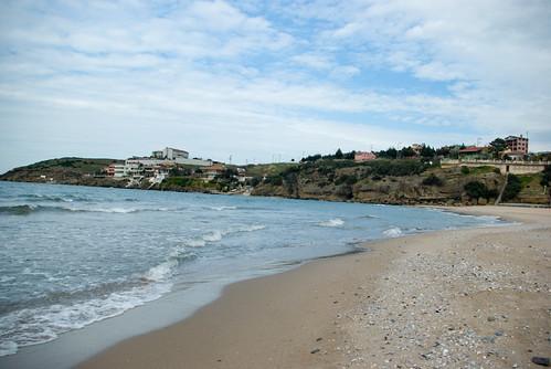 Riva beach, Riva village (pentax K10D)