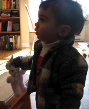 Elliott & his bunny