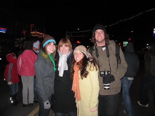 Rosie, Jo, Niccole, and Tim