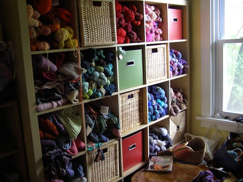 yarn room update