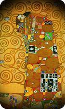 Gustav Klimt. El abrazo, 1907-1908.