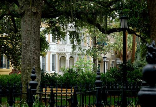 Historic Home and a Savannah Square