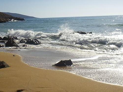 Steine und Meer