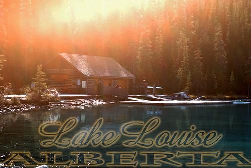 Lake Louise Postcard Practice