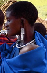 Masai Mother & Child