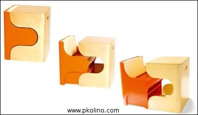pkolino puzzle-desk for kids - furniture