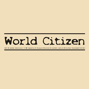 World Citizen - t-shirt design By brand resistant