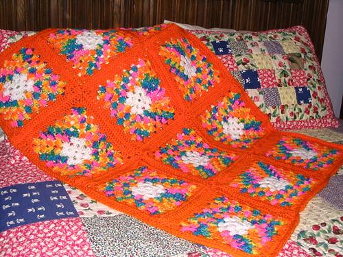 Cheerful Granny Afghan