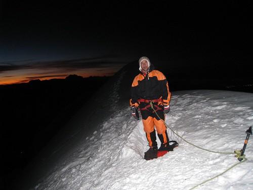 Le sommet 6088m