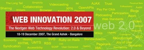 WebInnovation 2007 Conference