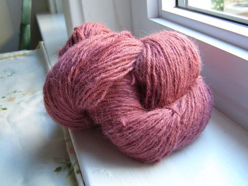 shetland triangle shawl