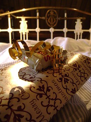 Christmas Presents in Bed