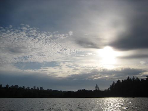 Clouds @ Deer Lake