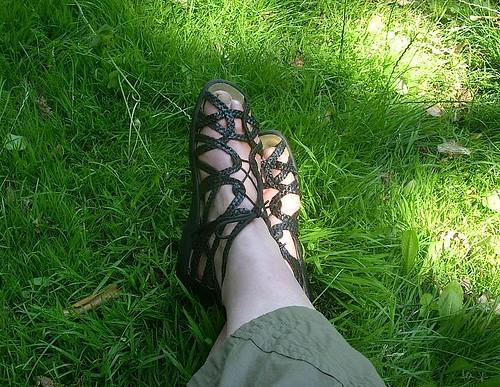 Ruhende Füße