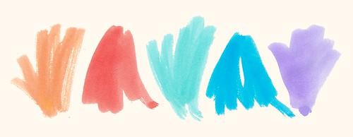 Summer Ink Palette No 2