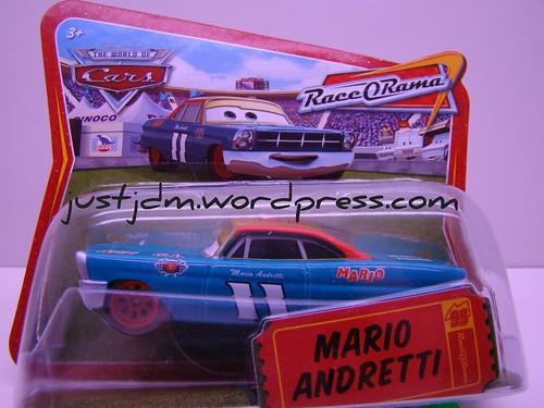 CARS short card Mario red rims
