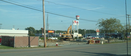 KFC/Taco Bell. Dead October 2007. Franklin, VA