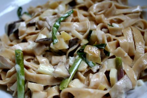 Maria Mushroom Fettucine