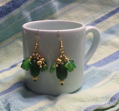Green Star Dangles