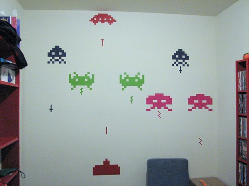 space invaders invade my office