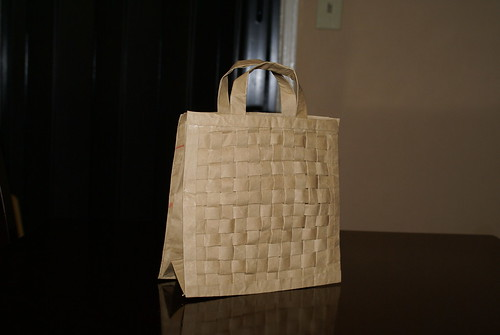 Weaved Paper Bag