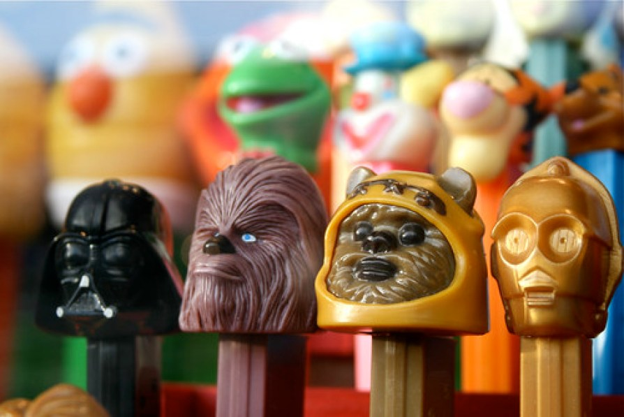 Yub Nub Star Wars Pez