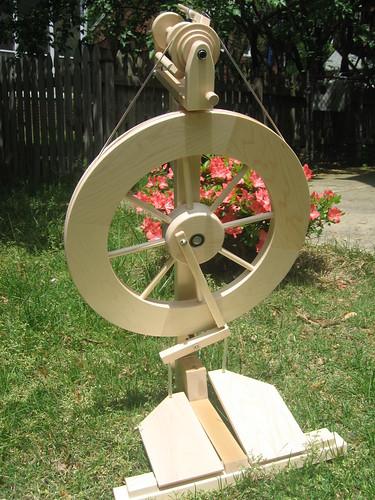My New Spinning Wheel