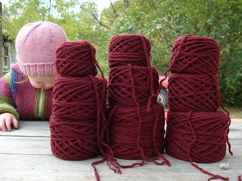 more reclaimed yarn