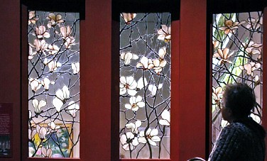 tiffany  magnolia windows