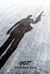 Poster teaser de 007 - Quantum of Solace - CLIQUE AQUI PARA FAZER O DOWNLOAD EM ALATA RESOLUÇÃO
