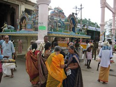 Vinayagar Temple at the Base of the Hill