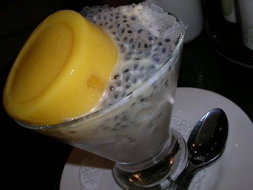 Din Tai Fung mango pudding