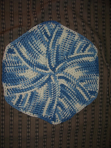 * This is one of my all time favorite dishcloth patterns - I make these all the time!!  :)