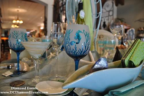 Seahorse Wine Glasses