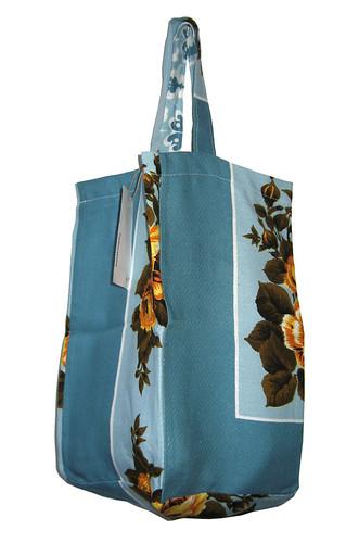tafelkleed tas met vierkante bodem