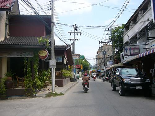 Koh Samui - Lamai Beach Road