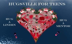Hugsville for Teens - Celebrate Valentine's Day in Second Life