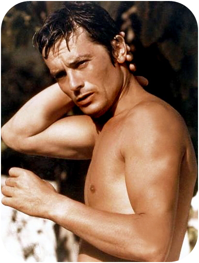 Alain Delon in La Piscine (1970)