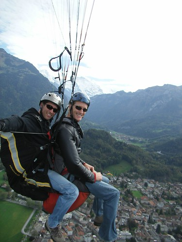 Paragliding Over Interlaken