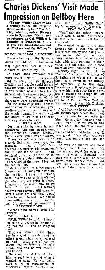 1953-09-13-PS-D-7-Charles Dickens Visit Made Impression on Bellboy Here