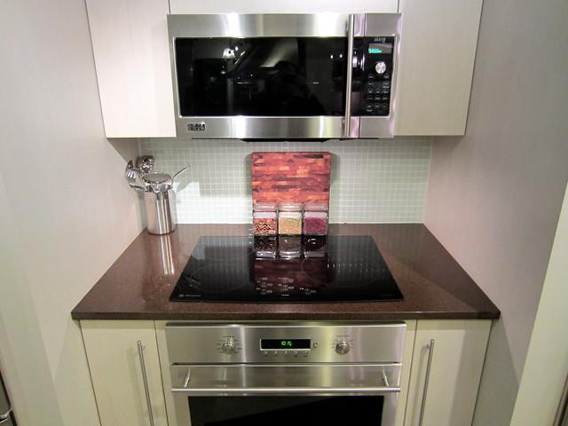 The new Advantium over-the-range oven at GE Monogram Design Center