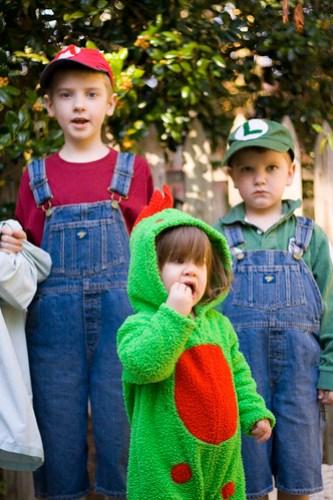 Mario, Luigi and Yoshi