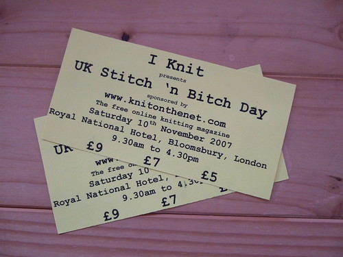 UK Stitch 'n Bitch Tickets
