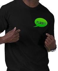 F1rst! t-shirt